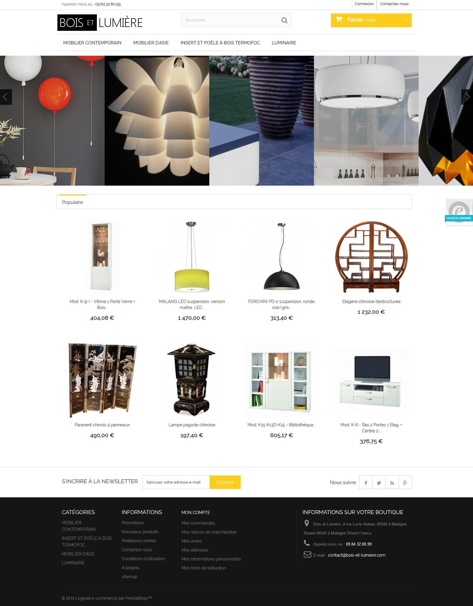 Grossiste meuble design for Fournisseur meuble