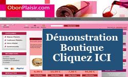 Démonstration boutique e-commerce Rue Du Site Prestashop Création