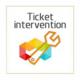 Ticket intervention creation et configuration de site E-commerce