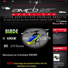 AMCB26 Création site internet E-commerce modelisme RueDuSite