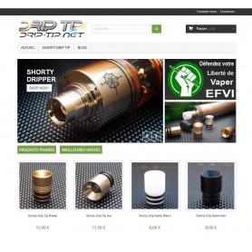 Création site E-commerce 3vap.com (cigarette électronique)
