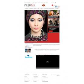 Cauris Wax - Création Site E-commerce vêtement
