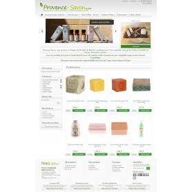 Création site e-commerce pour vendre du savon et des produits de la Provence
