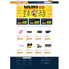 Discount et Destock - Création Site E-commerce high-tech et électro-ménager vente dropshipping