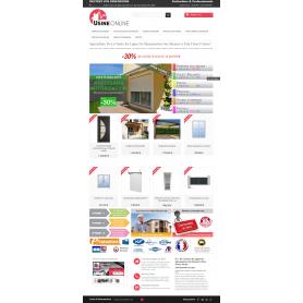 Usine Online - N°1 de la vente en ligne direct usine en menuiserie PVC, alu sur mesure.