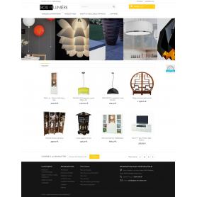 Creation site dropshipping grossiste fournisseur en meuble design et luminaire